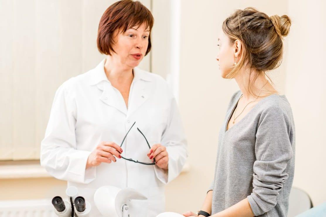 Mal dem ersten frauenarzt vor angst Angst vorm